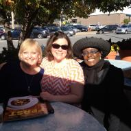 Sandy Snook, Amy Nixon, and BV participant Stephanie Moore